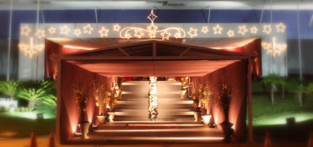 24-12-2012 iluminação entrada do salão TUGUÁ onde foi a CEI DE NATAL