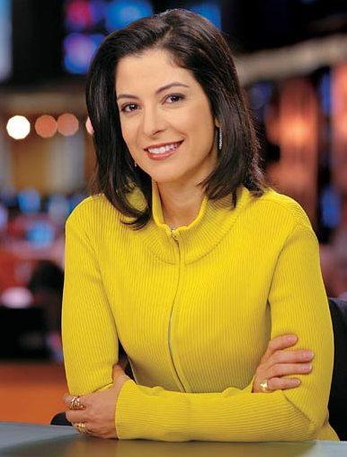 Foto sem data Ana Paula Padrão, jornalista.